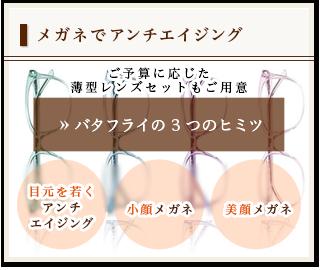 バタフライの3つのヒミツ